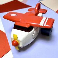 TONKA Aeroplane Airplane Plane Vintage Metal & Plastic Orange & White Retro 1970