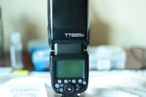 Godox Thinklite TT685C 2.4 Ghz GN60 Hot Shoe Mount Flash for Canon EOS Camera