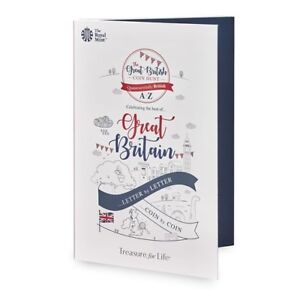 The Great British Coin Hunt 2018 26 A-Z 10p Coins Collector Album (NEW)
