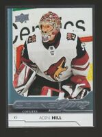(75976) 2017-18 UPPER DECK YOUNG GUNS ADIN HILL #454  RC