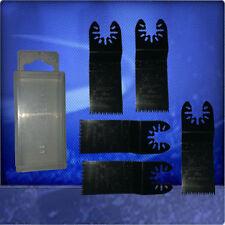5 Sägeblätter 32mm Japan Sägeblatt Zubehör Aufsätze für Einhell RT MG 200E + Box