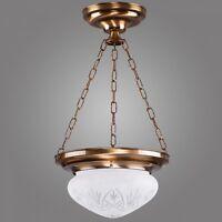 Exklusive Hängelampe Ouro in Antik-Gold / klassisch Deckenlampe