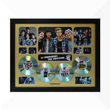 5 Seconds of Summer Signed & Framed Memorabilia - 4CD - Gold - Limited Edition