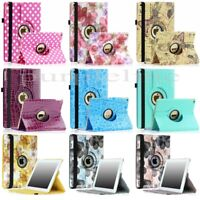 360 Rotating Leather Case Smart Cover Stand For iPad Air 2 2nd Crocodile Pattern