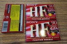 3 X CASSETTA SONY 90 min. OVP NUOVO, TIPO HF CD tipo 1 (18)