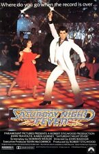 1977 Saturday Night Fever movie poster replica fridge magnet - new!