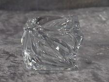Leonardo Kristallglas Swirl Kerzenhalter Leuchter Windlicht Tischlicht 6,5 cm