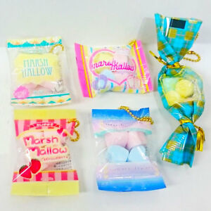 Mini Food Phone Charm Squishy J Dream Kawaii Cute Pink Marshmallow 1PC Random