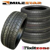 4 Milestar MS932 Sport 175/65R14 82T SL All Season Performance 50K Mile Tires