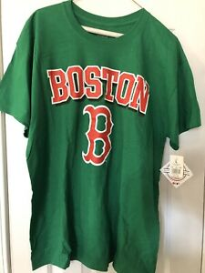 Boston Red Sox Green Shirt