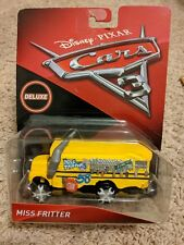 NEW IN BOX Disney/Pixar Cars 3 Deluxe Ms. Miss Fritter Die-Cast Vehicle 1:55