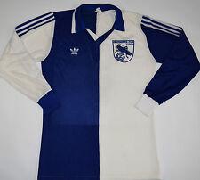 1982-1984 sauterelles zurich chemise du football domicile adidas (taille M)
