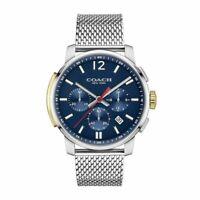 Coach Bleecker Watch For Men Chronograph Analog Quartz 14602022  New No Tags