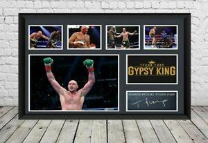 Tyson Fury Signed Photo Print Poster Autographed Memorabilia