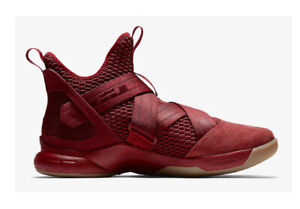 Lebron Soldier XII SFG Team Red AO4054 600  Nike Basketball