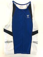 Retail $60  TYR Mens Splice Singlet Top Male Size L Large Triathlon TRI Wear NWT