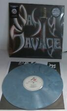 Nasty Savage self titled 1985 LP Marbled Grey Vinyl Record new 2016 Reissue
