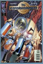 The Establishment #3 (Jan 2002 DC) Authority Edginton Charlie Adlard [Wildstorm]