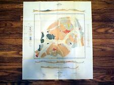 Historic Geologic Map - Wheaton, Yukon Territory, Canada - 1917 Original Map