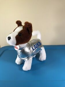 """The Petting Zoo Laika US Space Rocket Center Dog Plush about 12"""" TAG!"""