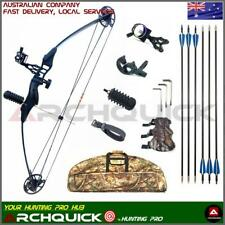 New Compound BOW Pack Archery Hunting Target Arrows Shooting Super Kits