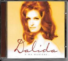 CD COMPIL 15 TITRES--DALIDA--A MA MANIERE...