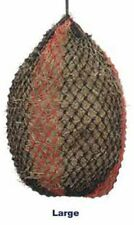 """Shires Deluxe Extra Strong Small Mesh Holes 1.75""""  Large 45"""" Haynet Haylage Net"""