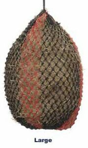 "Shires Deluxe Extra Strong Small Mesh Holes 1.75""  Large 45"" Haynet Haylage Net"