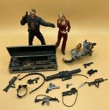 McFarlane Movie Maniacs Lot TERMINATRIX T-800 Terminator 3 Figure & weapons