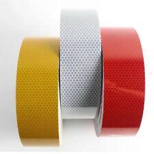 New Yellow High Intensity Reflective Tape Vinyl Self-Adhesive 150mm×1m Roll