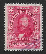 HONDURAS 1903 STAMP GENERAL SANTOS GUARDIOLA Used 1c. (CX2)