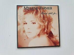 MYLENE FARMER CD 3 TITRES 1988 AINSI SOIT JE
