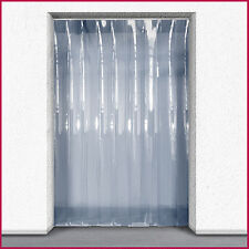 PVC Strip Curtain / Door Strip Kit - 1.5m (w)  x 2.25m (d) - 200mm x 2mm Strip