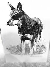 australian heeler cattle dog 11x17 Ltd Exition Puppy Print