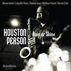 Houston Person - Rain Or Shine [New CD]