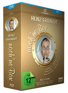 Heinz Erhardt - noch 'ne Box (Witwer mit 5 Töchtern / Drillinge an Bord) Blu-ray