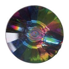 Pack of 3 Hemline Diamond Prism Style Shank Back Buttons 15mm