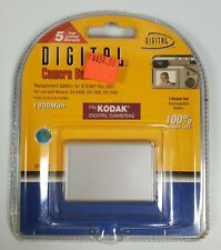 Lithium-Ion Rechargeable Battery for Select Kodak Digital Cameras (KLIC-5001)
