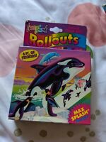 Vtg Lisa Frank Rollouts 6 Feet Of Max splash Stickers On A Roll new and Sealed!