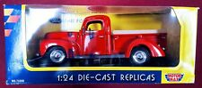 1940 Ford Pick-Up Truck Red MotorMax Replicas 1:24