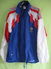Veste Adidas à cauche Coupe vent Equipe de France 1991 Vintage Jacket - 180 / L
