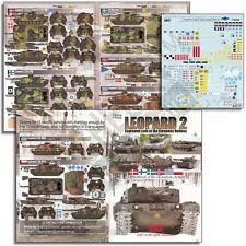 Echelon Decals 35008  1/35 Leopard 2 Fearsome Cats European Nations