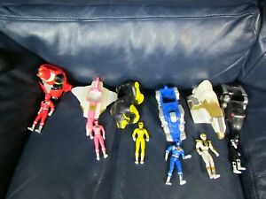 1995  McDonald's Toys Power Ranger Set of 6 Figures