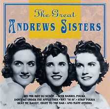 THE ANDREWS SISTERS : THE GREAT ANDREWS SISTERS / CD - NEUWERTIG