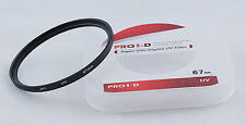 JYC 67mm UV Ultra Violet Filter Lens Protector for Canon Nikon Sony Olympus DSLR