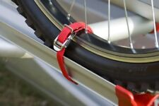 FIAMMA CARRY BIKE TWO WHEEL STRAPS SECURES WHEELS TO MOST BIKE RACKS