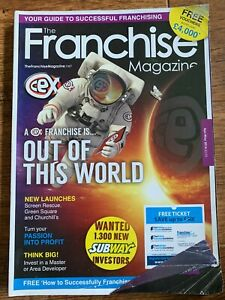 Franchise Magazine April May 2014 Franchising CEX Entrepreneur Business