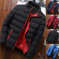 Men's Winter Warm Down Jacket Thick Ski Outerwear Snow Puffer Coat Plug Size