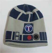 TEXAS TX RANGERS MLB ~ STAR WARS R2D2 R2-D2 BEANIE  ~ SGA  9/6/2014 ~ NEVER WORN