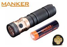 New Manker E14 II (White) USB Recharge Cree XP-G3 2200LM LED Flashlight w/18650